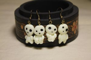 Kodama Earrings by Nabila1790