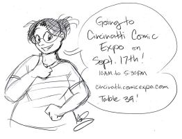 Going to Cincy Comic Expo by alex-heberling