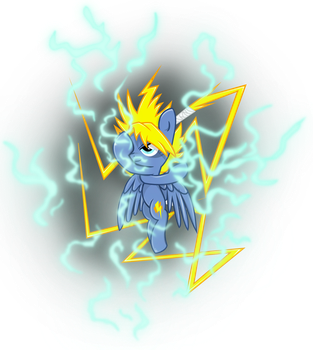Thunder, the master of lightning by Archonitianicsmasher