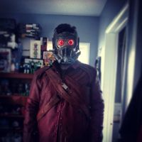 star lord test fit by drummerkidd12