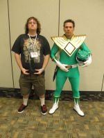 Otakon 2012 - Me with Jason David Frank 2 by mugiwaraJM