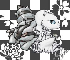 Sleepy Tea: Zekrom Reshiram by Leafye