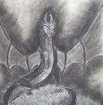 Charcoal Dragon 1 by dragongirl117