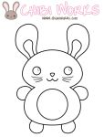 PatterBunny Coloring Contest by ChibiWorks