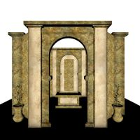 3D Stock - Temple 1 by yana-stock
