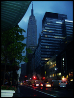 Empire State Building by Ashla