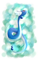 Dragonair by SkittyStrawberries