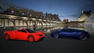 Built for Speed Pagani Huayra 11 and 13 by whendt