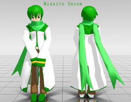 [MMD] Nigaito Shion by Lady-Zana