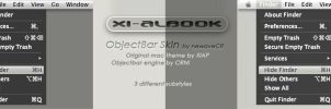 XiAlbook 1.0 Objectbar Skin by NewaveCR