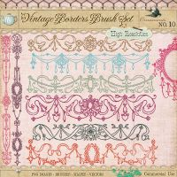 Ornament Borders No. 10 by starsunflowerstudio