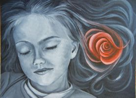 Rose Dreaming by ElizaLeahy