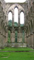 Rievaulx Abbey 16 - Stock by GothicBohemianStock