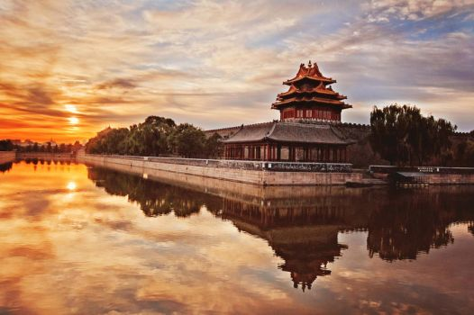 Sunrise The Forbidden City by sunny2011bj