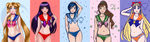 Sailors in Lingerie WIP by Roots-Love