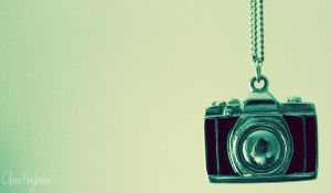 Camera Necklace by Clerdy