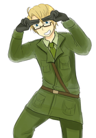 APH - Absolutely Invincible American Git by burntnoodles
