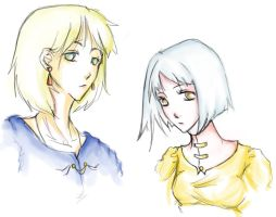 Sophie x Howl by CyanideOrchid