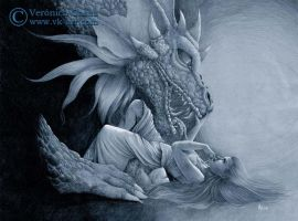 Dragon kiss by VKart