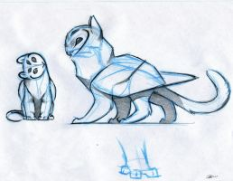 Owl Griffin design by RobtheDoodler