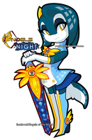 Sonar in Engels of the Night costume 2 by eliana55226838