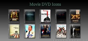 Movie DVD Icons 2 by manueek