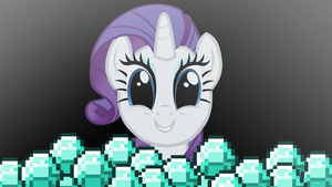 Rarity Finds Diamonds by Brony4Eternity