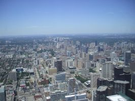View from CN Tower 2 by Carnage-Alchemist