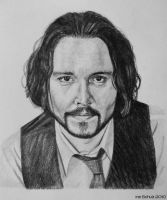 Johnny Depp - Frank Tupelo 2 by shaman-art