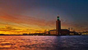 Stockholm City Hall by Leoric777