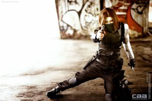 COSPLAY - Winter Soldier CAACOSPLAY V by MarineOrthodox