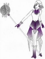 Princess Senshi Sailor Saturn by shiory