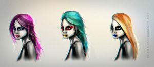 Character Hair color ideas by SeanNash