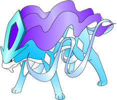Suicune by Midnightrose1113