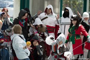 Assassin's Creed Anime Expo 2012 Gathering by NeedtoDestroy