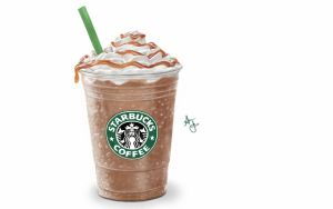 Starbucks Frap by laziee2ann