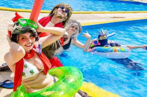 I miss the summer! - League of Legends Pool Party by ShiVoodoo