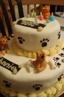 Birthday cake with animals 2 by manga-fire-24