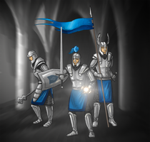 Knights of Light by Todesschnitzel