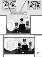 The World War 2 Saga Chap 28 Page 131 b and w by mamc1986
