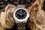 Silver Swiss Army Watch 1 by AaronPlotkinPhoto