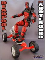Deadpool Off-Road Skateboard by Lokoboys