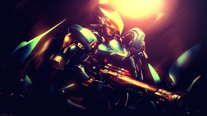 Pharah Wallpaper - Overwatch by Prollgurke