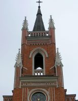 Church bell tower by saltov-man