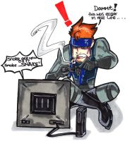 Solid Snake Sucks....... by Hades-O-Bannon