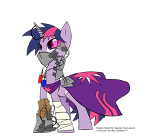 Future Armored Twilight Sparkle by ZeldaFan777