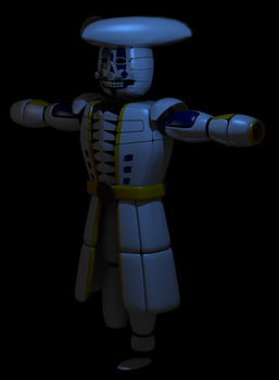WIP 2 - Funtime Pirate by Dweebnut