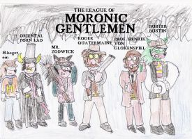 League of Moronic Gentlemen by Luke-the-F0x