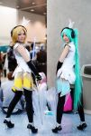Vocaloid Racer Rin and Miku 2013 by vi-ki