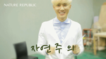[GIF] Suho's Aegyo - Nature Rep BTS (Unedited) by imawesomeee03
